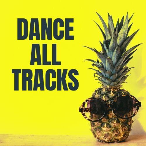 playlist di musica on the road: logo del programma radiofonico dance all tracks