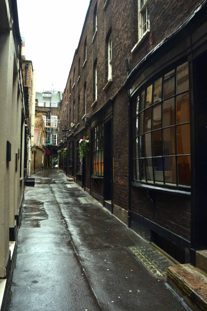 luoghi di harry potter a londra: notturn alley
