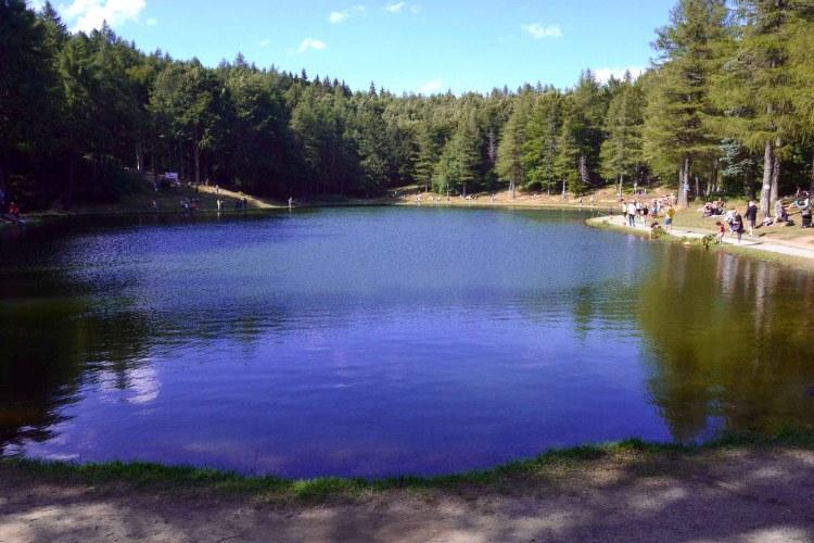 escursione al Monte Cimone: il lago della ninfa