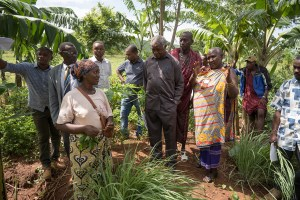 visiting permaculture farm in drylands