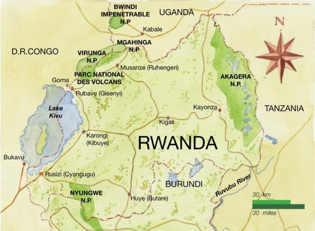 rwanda-national-parks-map