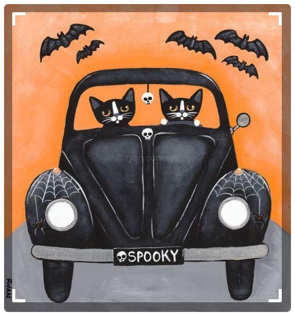 spooky drive
