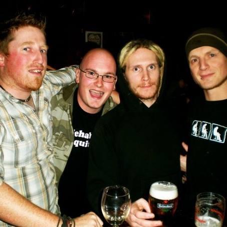 Something of an old Kilkenny Music crew shot (L-R): Ken, Mickey, Daw, Ross