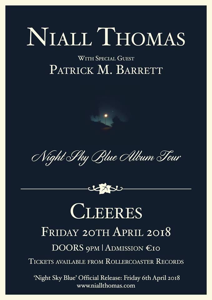 Niall Thomas: Night Sky Blue poster