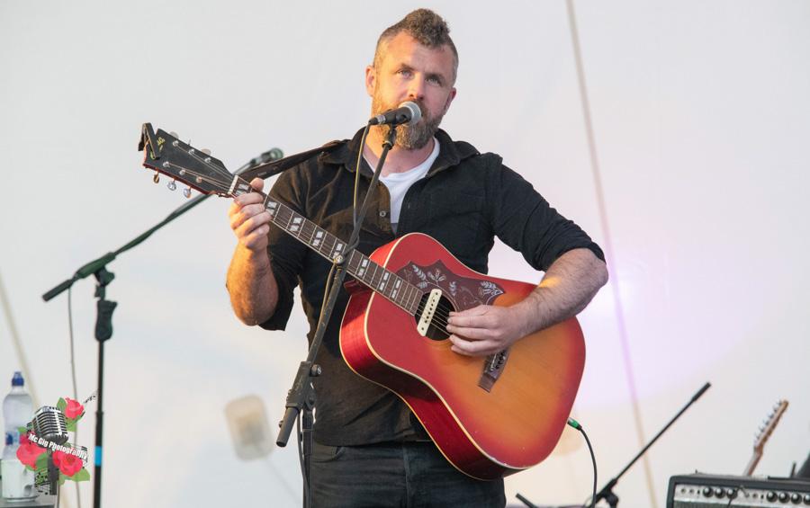 Mick Flannery, live at Ballykeeffe Amphitheatre.