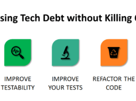 Addressing Tech Debt without Killing Quality