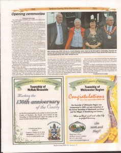 A Journey Through Time - Past, Present and Future. Published by The Eganville Leader, celebrating the 150th anniversary of Renfrew County. Page 6