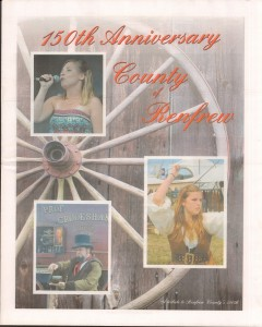 A Journey Through Time - Past, Present and Future. Published by The Eganville Leader, celebrating the 150th anniversary of Renfrew County. Page 23