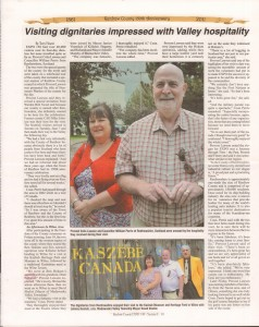 A Journey Through Time - Past, Present and Future. Published by The Eganville Leader, celebrating the 150th anniversary of Renfrew County. Page 59