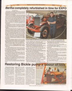 A Journey Through Time - Past, Present and Future. Published by The Eganville Leader, celebrating the 150th anniversary of Renfrew County. Page 48