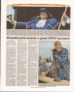 A Journey Through Time - Past, Present and Future. Published by The Eganville Leader, celebrating the 150th anniversary of Renfrew County. Page 50