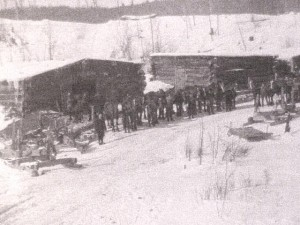 JR Booth Lumber Camp. c. unknown location