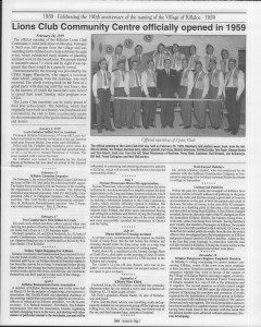 A trip down memory lane, produced by the Eganville Leader to commemorate Killaloe's centennial, in August 2008. Page 54