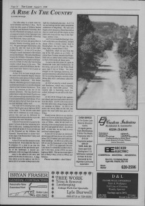 The Laker Issue 12, From Friday, August 5,1988.