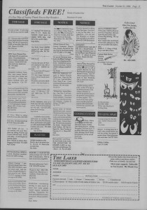 Laker Issue 23, 1988-4