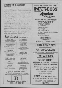 The Laker Issue 23 From, Friday, October 21, 1988.