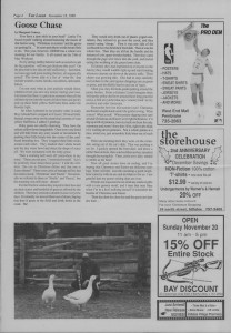The Laker Issue 27 From Friday, November 18, 1988.
