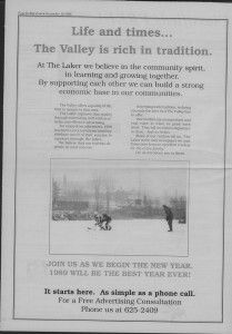 Laker Issue 31, 1988-2