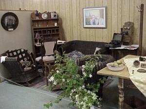 Nancy Philp's Walk Down Memory Lane Display at the Killaloe Millennium Museum.