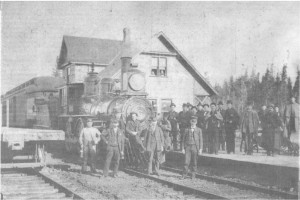 oldest shots of killaloe train station wctrain1905bbtw