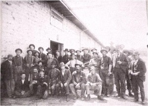 workers at JR Booth Lumber Camp.c