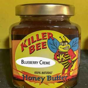 Blueberry Creme Honey Butter