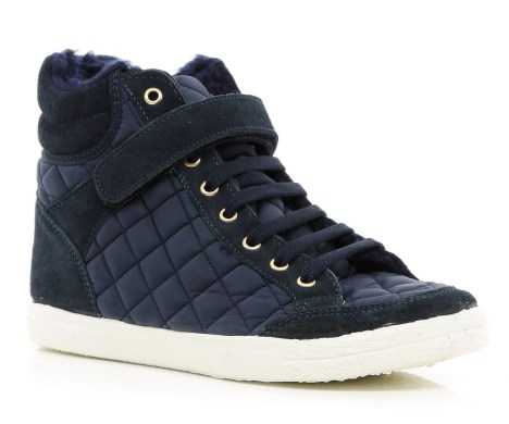 River Island €40 - Quilted Panel High Tops