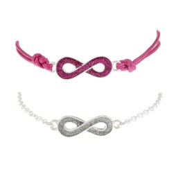 Claire's Infinity Bracelets