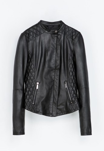 Quilted Leather Jacket €200