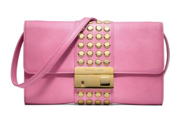Gia Studded Leather Clutch http://tinyurl.com/k2n7evj