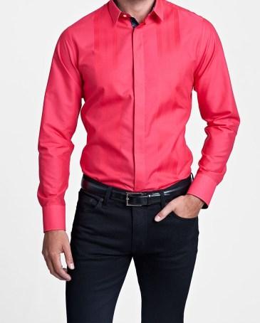 Thomas Pink €180 - glover plain super slim fit button cuff shirt http://bit.ly/1xiU86R