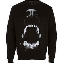 River Island €18 - Dog Bite Print Sweatshirt http://tinyurl.com/oq49d44