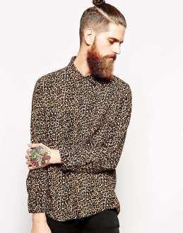 American Apparel €100 -Oversized Leopard Print Rayon Shirt http://bit.ly/1xDdfHv