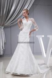 €369 - Beautiful V-neck Long Ivory Prom Dresses http://www.fannycrown.com/beautiful-v-neck-long-ivory-prom-dresses.html