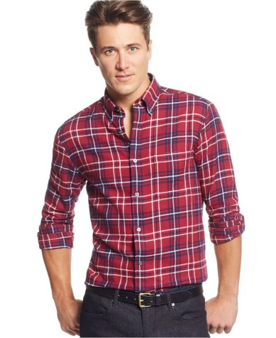 John Ashford @ Macys €17 - Shirt Long-Sleeve Plaid Flannel http://mcys.co/1jzzoUw
