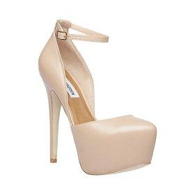 Steve Madden €104 - Deeny http://www.dunelondon.com/deeny-platform-ankle-strap-court-shoe-0606508150020485/