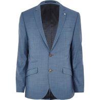 Light Blue Slim Suit Jacket €145 - http://eu.riverisland.com/men/suits/slim-fit/Light-blue-slim-suit-jacket-270376