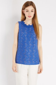 Lace High Neck Shell €44 http://www.oasis-stores.com/lace-high-neck-shell/loved-by-mollie/oasis/fcp-product/3710049720