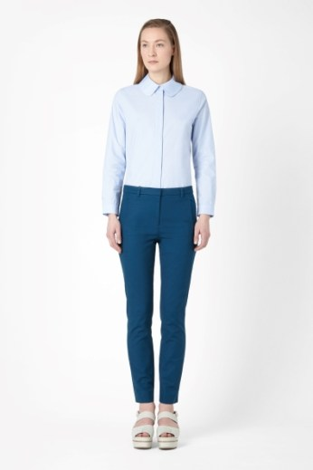 Slim cotton trousers €69 - http://www.cosstores.com/ie/Shop/Women/Trousers/Slim_cotton_trousers/46887-14186260.1#c-24480