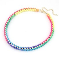 Glitz n Pieces Funky Neon Necklace €8.50 - http://glitznpieces.ie/product/funky-neon-necklace/