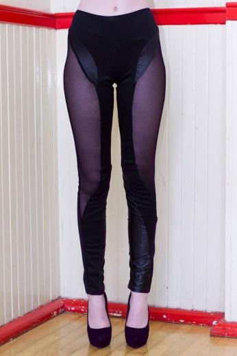 Evoque Mesh Panel Leggings £50/€60 - http://www.dancingdollsuk.com/product/evoque/