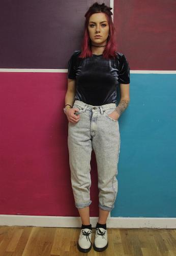 Tola Vintage €30.38 - Vintage High Waisted Mom Jeans http://bit.ly/1rC2Db2