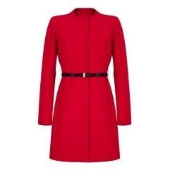 Marella @ Arnotts €370 - Faida Belted Coat Red http://bit.ly/1u7en3V