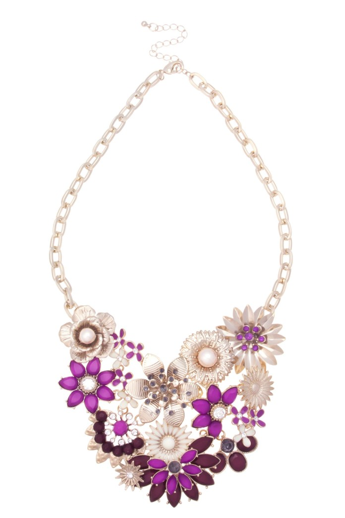 Oasis €31 - Cluster Flower Necklace http://bit.ly/1t5vcMs