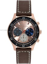 Ted Baker €268.29 - Chronograph Brown/Rosegold Watch http://bit.ly/1pqYO2T
