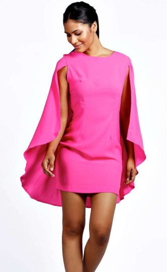 Boohoo €21.99 - Katie Cape Dress http://bit.ly/1pV2VED