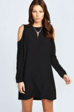 Boohoo €15.99 - Olivia Open Sleeve Shift Dress http://bit.ly/1vqpWX0