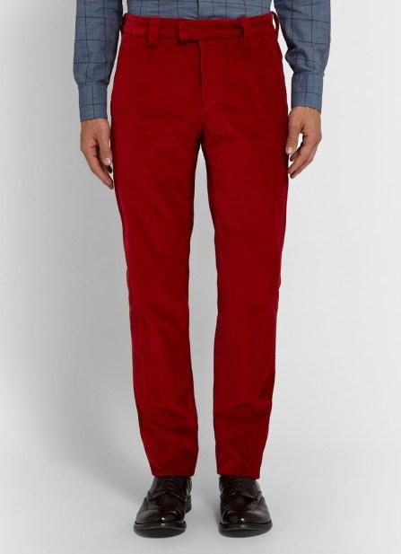 Michael Bastian @ Mr Porter €280 - Slim Fit Corduroy Trousers http://bit.ly/1NAukdz