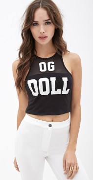 Forever 21 €13.45 - OG Barbie Doll Graphic Crop Top http://bit.ly/14mCUdA