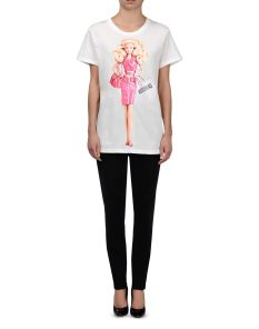 Moschino €261 - Barbie Print T-shirt http://bit.ly/1vcv5Cd
